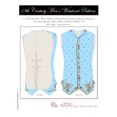 18th Century Mens Waistcoat Pattern