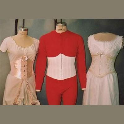 Ladies and Gentlemens Under Bust Corset (1894 - 1909) LM113