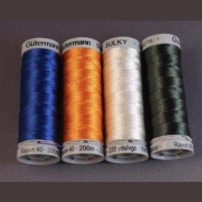 Sulky Rayon 40 200m rolls