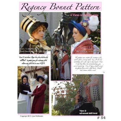 Regency Bonnet Pattern