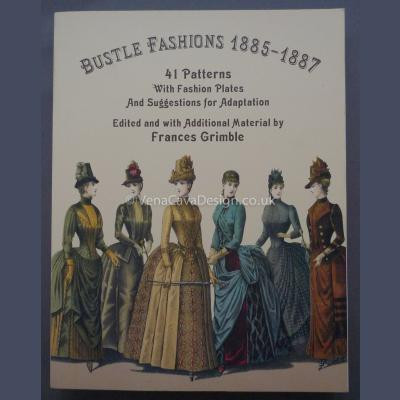 Bustle Fashions 1885–1887