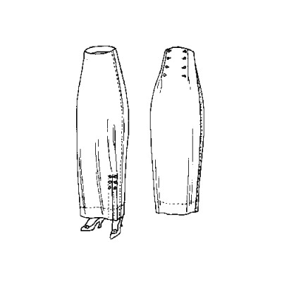 Two Piece Skirt Pattern