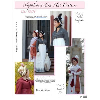 Napoleonic Era Hat Pattern