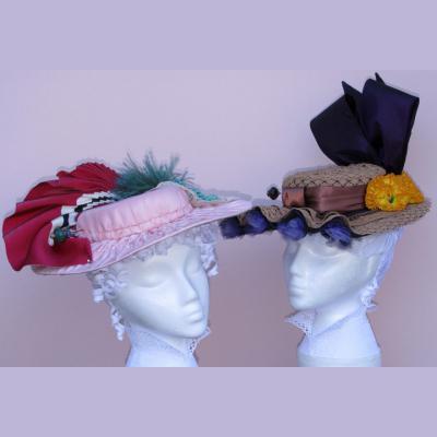 1895-1905s La Belle Epoque Hat Pattern