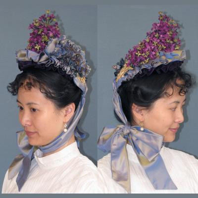 Late Victorian Small Bonnet Pattern