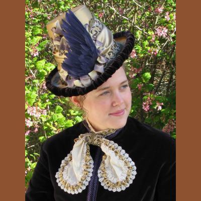 Womens Victorian Tall Hat Pattern