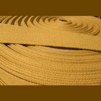 Khaki Colour Military Grade Webbing , Surplus, Steampunk, Bushcraft