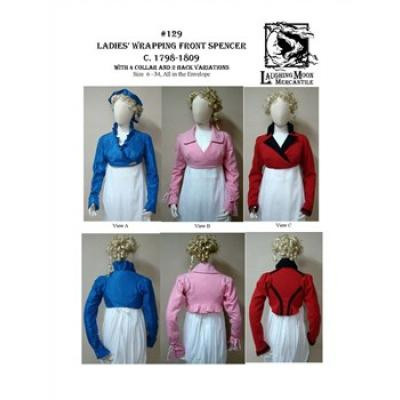 Ladies Wrapping Front Spencer 1798-1809