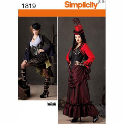 Simplicty Steampunk Costume