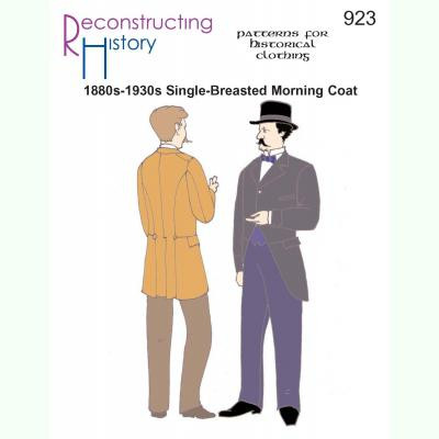 1880s-1930s Single-Breasted Morning Coat