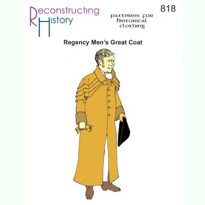 Regency Mens Great Coat