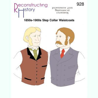 1850s-1900s Step Collar Waistcoats