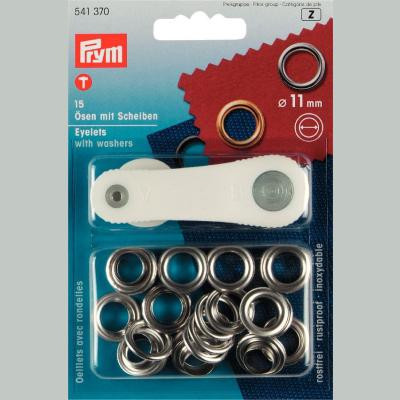 Eyelets and Washers 11mm - Prym