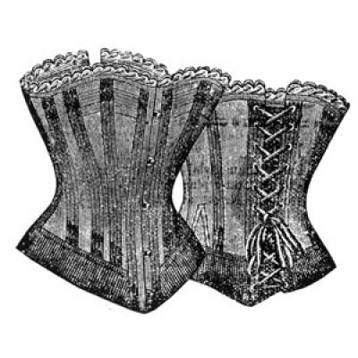 1897 Corset for Stout Figure