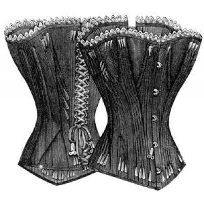 1891 Young Ladies Corset