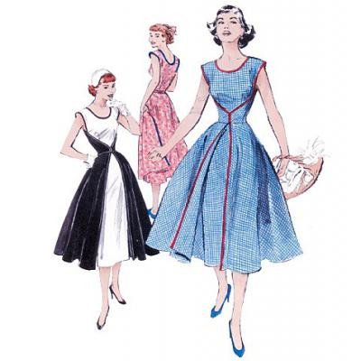 1952 Butterick Retro Pattern