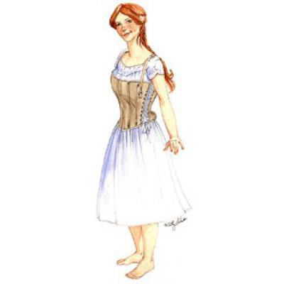 Madam Foy Skirt Supporting Corset