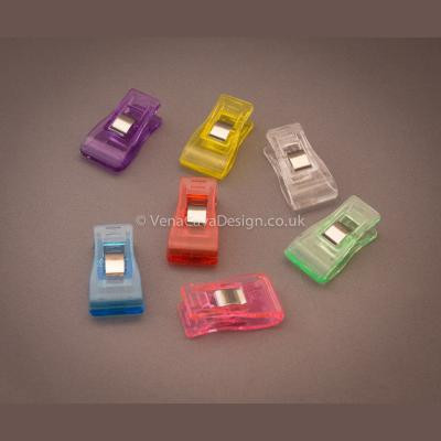Wonder Clips. Pin alternative for PVC, Leather etc Quilting