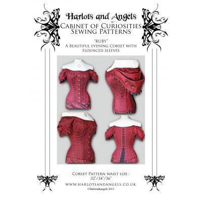 Ruby Sleeved Corset Pattern