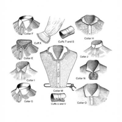 Late Victorian Collars and Cuffs