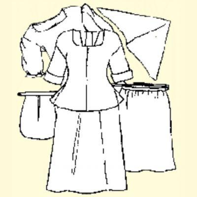 Womens Basic 18th Undergarments.