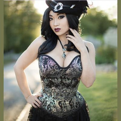 Misses Overbust or Underbust Corsets by Yaya Han