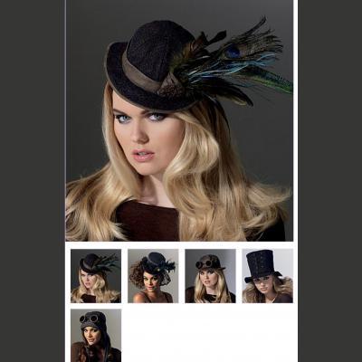 Hats in Five Styles