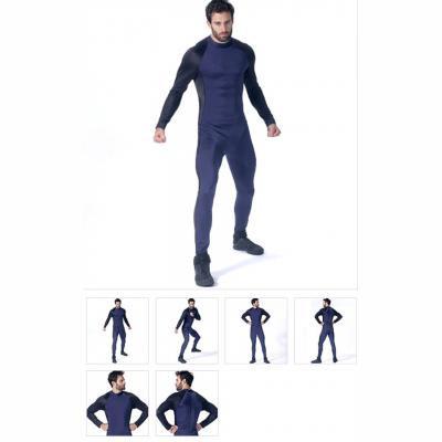 Mens Zippered Bodysuit by Yaya Han