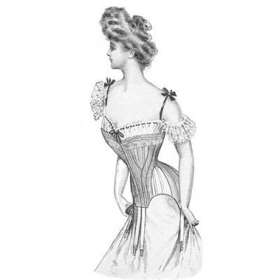 1903 Edwardian Corset
