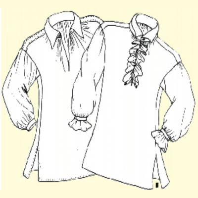 Mens 18th Century Shirts