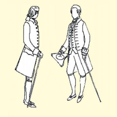 18th Century Gentlemans Frock Coat
