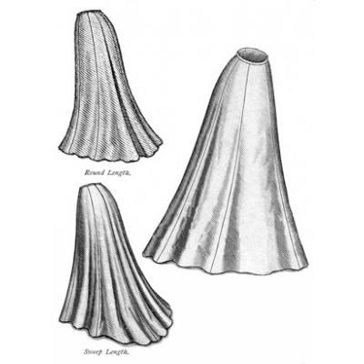 1903 Trumpet Skirt