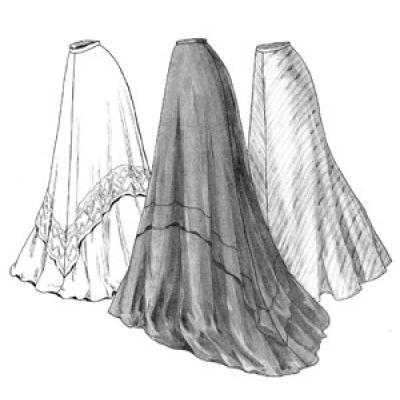 1905 Circular Skirt