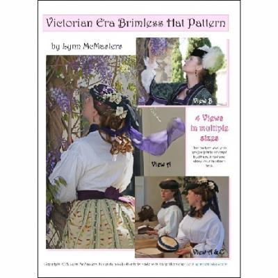 Victorian Era Brimless Hat Pattern