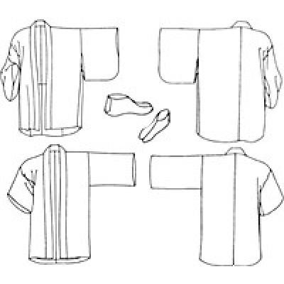 Japanese Hapi & Haori - Sewing Pattern