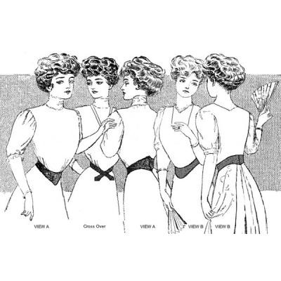 Edwardian Dip-Waist Belts