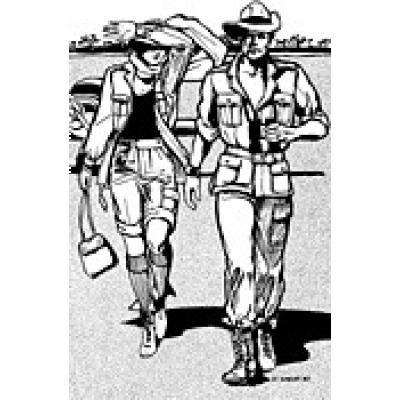 Australian Bush Outfit for men and women