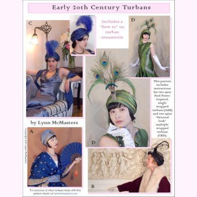 Early 20th Century Turbans