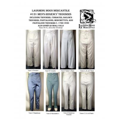 Mens Regency Trousers