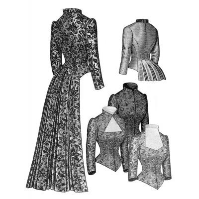 Late Bustle Patterns 1883-1889 > Truly Victorian > Historical Sewing ...