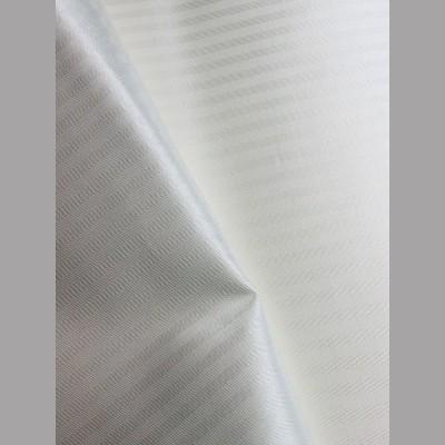 White Stripe Viscose Fabric -Discontinued line