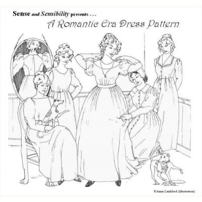 Romantic Era Dress Pattern