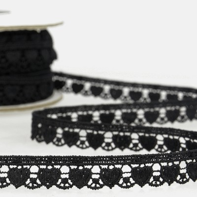 Venice Lace Trim - Hearts
