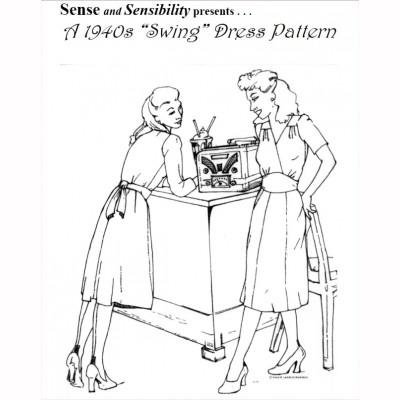 1940's Swing Dress Pattern