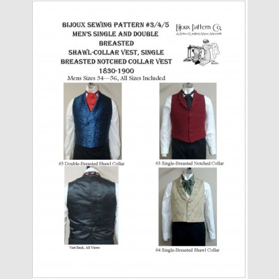 18b444aa44b Men s Romantic   Victorian Single   Double Breasted Shawl Collar Vest and  Single Breasted Notched Collar