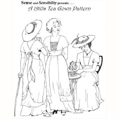 A 1910's Tea Gown