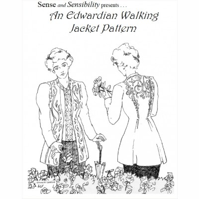 Edwardian Walking Jacket pattern