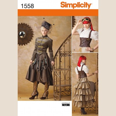 Simplicty Steampunk Costume