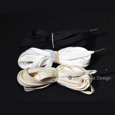 Cotton Corset Laces with Metal Tips (Aglets)